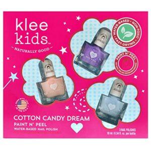 Klee Kids Water-Based Peelable Nail Polish Set