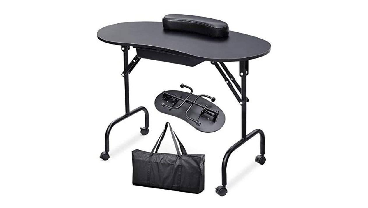 nail technician table